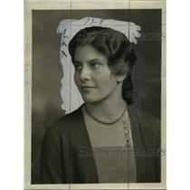 1931 Press Photo Francesca Eschweiler - mja14884