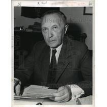 1949 Press Photo Dr Konrad Adenauer, leader of Christian Democrats- Chancellor
