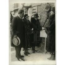1930 Press Photo New York Grover Whalen, Mrs. Thomas Sherman NYC. - neny01603