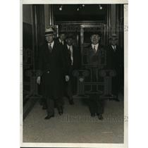 1931 Press Photo New York Robert Lee Harrison at district attorney's office NYC