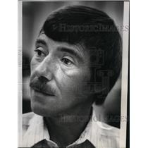 1980 Press Photo Appraiser Mel Foltz Candidate County Commission Position 2