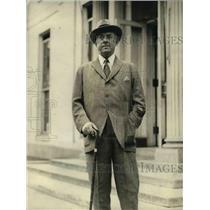 1923 Press Photo Former Gov Beekman of Rhode Island visits White House
