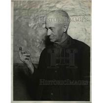 1924 Press Photo George Doty,72 years old in Jail - nef04753
