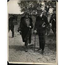 1929 Press Photo Mrs Herbert Hoover attends National Capital Horse Show