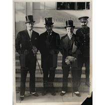 1930 Press Photo English Delegates At International Radiotelegraph Conference