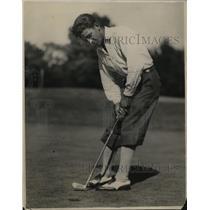 1932 Press Photo Golfer Ralph Strafaci of Brooklyn, NY on the golf course