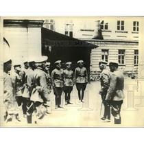 1934 Press Photo General Petko Zlaten, new minister of war of Bulgaria