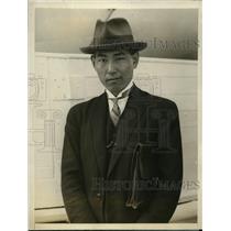 1927 Press Photo Japanese Minister of Mexico T. Kumabe - nef01355
