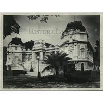 "1928 Press Photo ""Guanabara Palace"" in Rio De Janeiro, Brazil - mjx01904"
