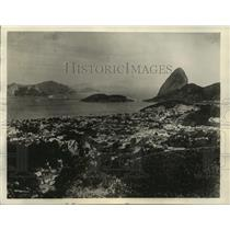 1935 Press Photo Brazilian Capital, Scene of New Revolt - mjx01903