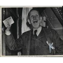 1940 Press Photo Poultney Bigelow friend and biographer of former Kaiser Wilhelm