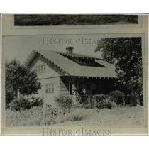 1924 Press Photo Indian Home in Oklahome - nef02589