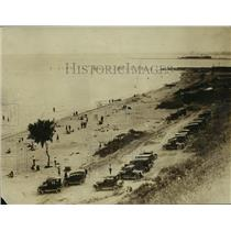 1922 Press Photo Bradford Beach - mjx02732