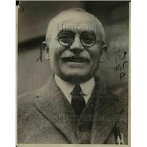 1923 Press Photo Joe Justice of New York - nef04114