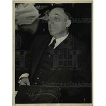 1933 Press Photo Lachlan MacLeay of Mississippi Valley Association - nef04835