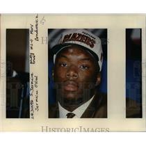1996 Press Photo Jermaine O'Neal-Portland Trailblazers - orc11731
