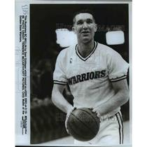 1989 Press Photo Chris Mullins of the Golden State Warriors - orc12465