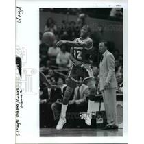 1991 Press Photo Magic Johnson - orc12288