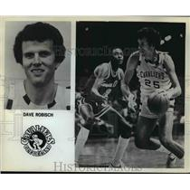 1981 Press Photo Dave Robisch of the Cleveland Cavaliers - orc11650