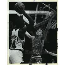 1982 Press Photo Chicago Bulls Ray Blume  - orc15441