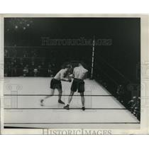 1929 Press Photo Boxer Christner fighting in New York City bout - net15102