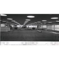 1974 Press Photo Spokane International Airport Terminal - spa28240