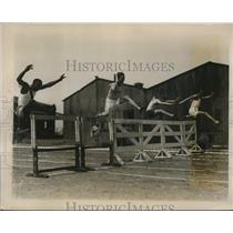 1927 Press Photo Fourth Annual Corps Area track meet at Governors Island NY