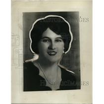 1930 Press Photo Mrs Jack Sharkey wife of the boxer - net10997