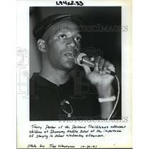 1991 Press Photo Terry Porter of the Portland Trail Blazers - orc15555