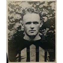 1928 Press Photo Whitney Lloyd Navy football player - net13525
