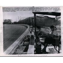 1965 Press Photo Retired US Army Col Howard Maxwell at Indianapolis Speedway