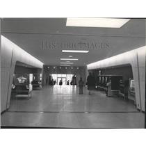 1965 Press Photo Spokane International Airport Terminal - spa28254