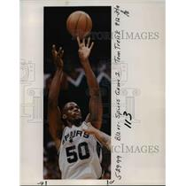 1999 Press Photo Portland Trail Blazers - San Antonio Spurs Game 1 - orc12566