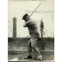 1920 Press Photo Attorney general golfing at Chevy Chase club - net11280