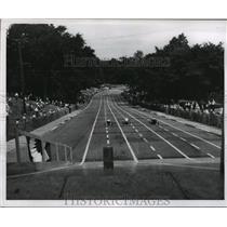 1950 Press Photo Soap Box Derby - mjx04943