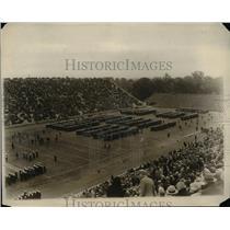 1930 Press Photo US Naval Academy midshipmen at game vs Princeton - net16117