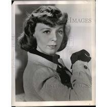 "1948 Press Photo Margaret Sullivan in drama series, ""Theater Guild on the Air"""