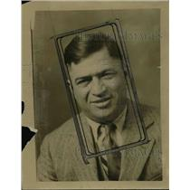 1927 Press Photo Mr de Lauer manager of boxer Billy wallace - net16677