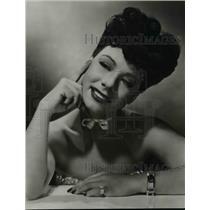 "1947 Press Photo Anne Triola in a leading role in ""Intermission"" - orp29781"