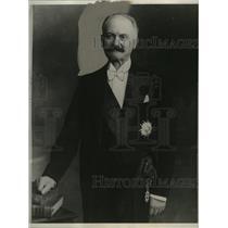 1932 Press Photo Albert LeBrun, President of the French Republic - mjx03714