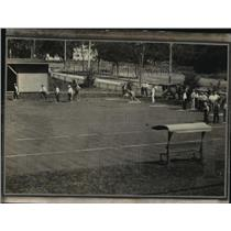 1924 Press Photo The first annual tournament of bowling at Stickney Field club