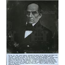 1830 Press Photo Former Senator Daniel Webster - mjx06587