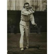 1930 Press Photo Dr Jack Wright of Montreal at tennis courts - net17266