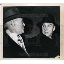 1945 Press Photo Baseball Commissioner Ford Frick & Will Harridge in DC