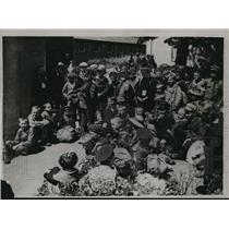 1920 Press Photo Austrian Child Famine Victims at Sandwich Haven Camp