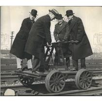 1930 Press Photo Chicago New york Pennsy lvanias track - RRR42959