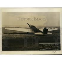 1929 Press Photo Klemm Plane in Flight - ney13531