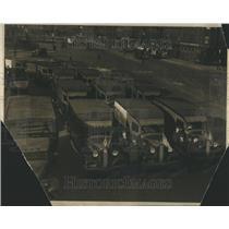 1936 Press Photo Fair Trading Act Motor Vehicle Trader