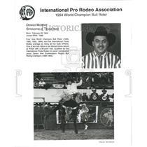 1994 Press Photo Dennis Morris Bull Riding Champion - RRR44981