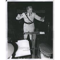 1942 Press Photo Herbert L. Straub Conductor
